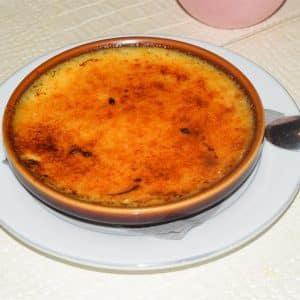 Photo de crème brûlée